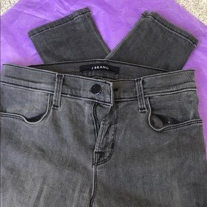 J brand's super skinny Grey denim size 26